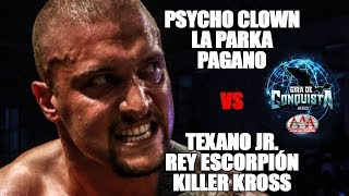 Psycho, Parka y Pagano Vs Texano, Escorpión y Kross | Lucha Libre AAA Worldwide