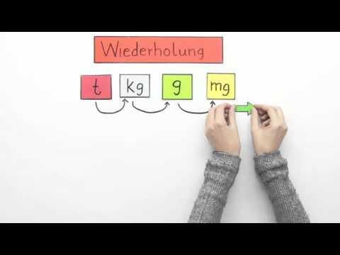 220bungen zu gewichtseinheiten umwandeln mathematik