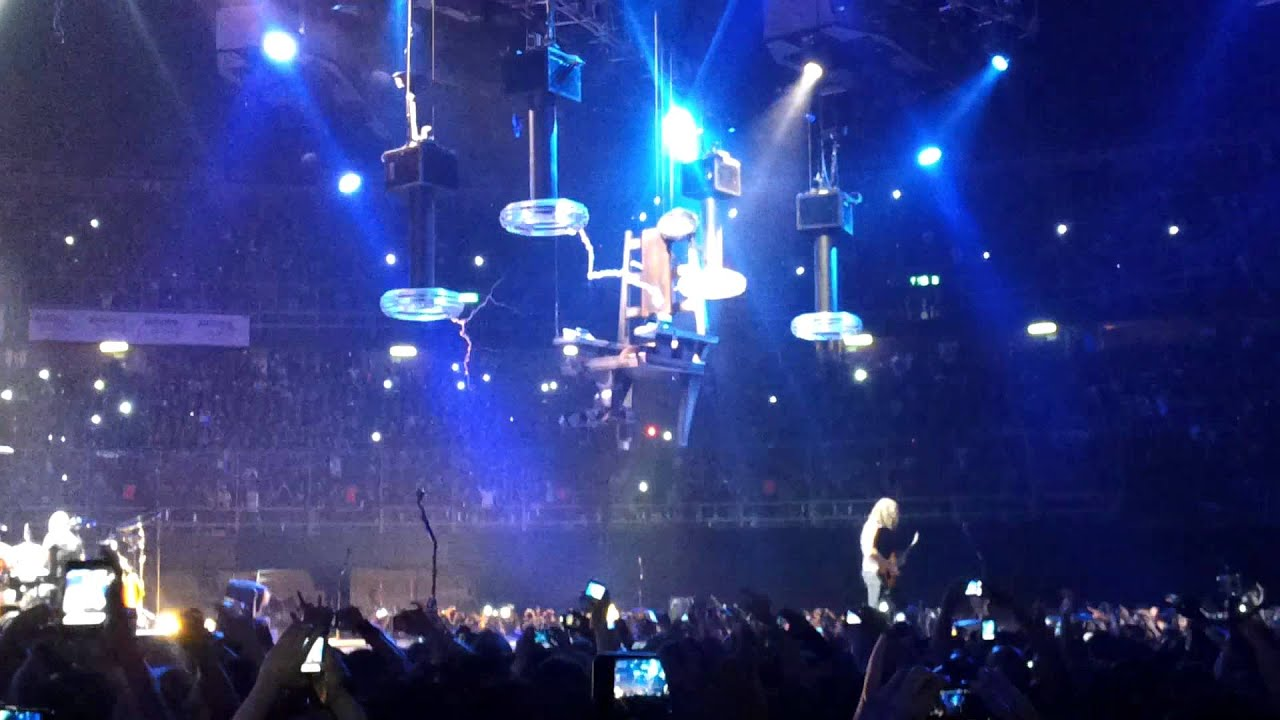 Metallica  Ride The Lightning The Electric Chair Mexico