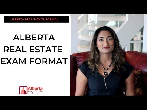 The Alberta Real Estate Exam Format