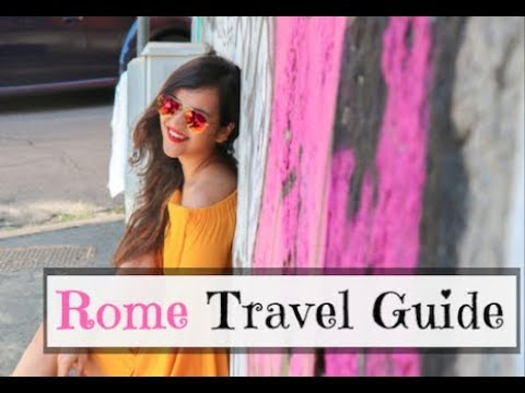 Rome Travel Guide: The Vatican City & Trevi Fountain on Foot