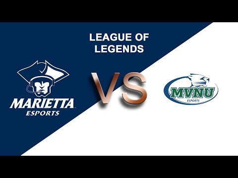 League of Legends Fall 2019: Marietta College vs. Mount Vernon Nazarene University