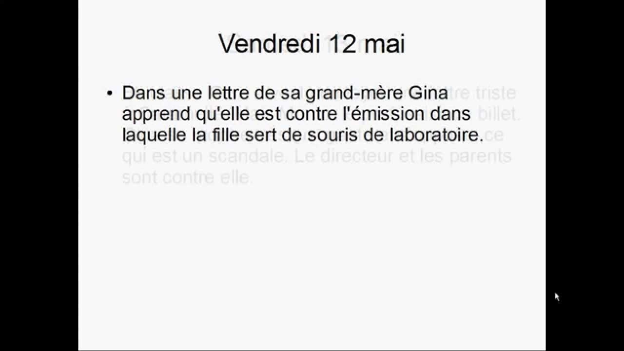 Gudule Regardez Moi Résumé Zusammenfassung Inhalt Abitur 2015 2016