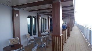 Norwegian Escape 678 Ocean Place Waterfront Walking Tour