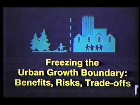 Freezing the Urban Growth Boundary:  Benefits, Risks, & Trade-offs