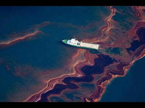 Gran derrame de petróleo en el Golfo de México
