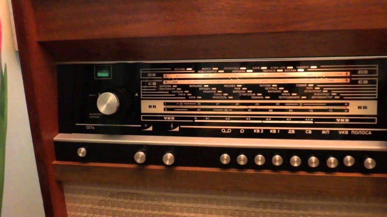 Ламповый стерео УНЧ из двух радиол Ригонда-102. ч.1 - YouTube