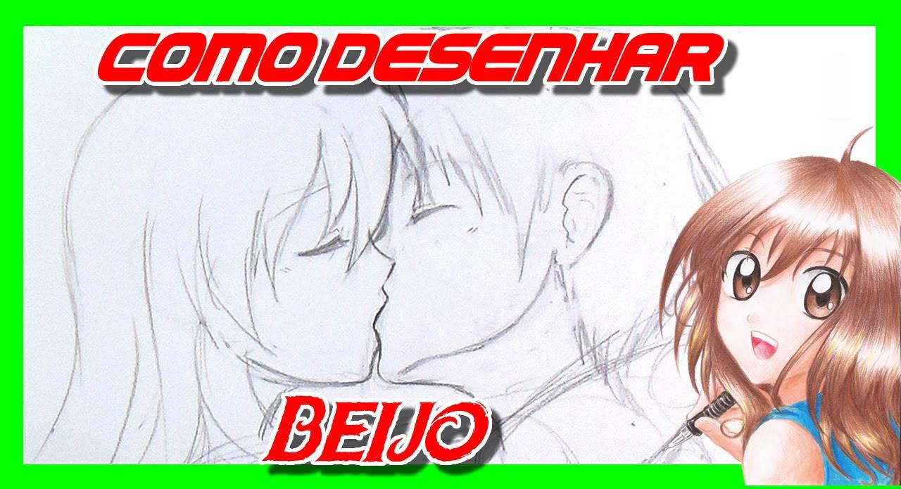 Como Desenhar Um Casal Se Beijando Manga Youtube