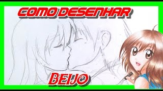 Como Desenhar um Casal se Beijando - Mangá