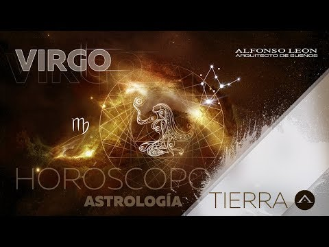 VIRGO | 16 AL 22 DE OCTUBRE | HORÓSCOPO SEMANAL | ALFONSO LEÓN ARQUITECTO DE SUEÑOS