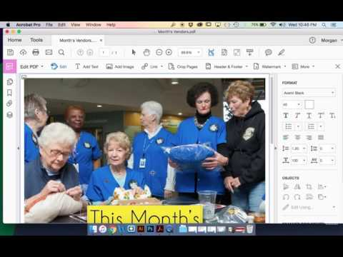 Adobe Acrobat Pro Tutorial - Editing Text In PDFs
