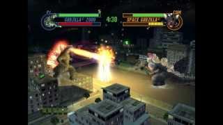 Godzilla: Save The Earth - Godzilla 2000 VS. Space Godzilla (HARD)