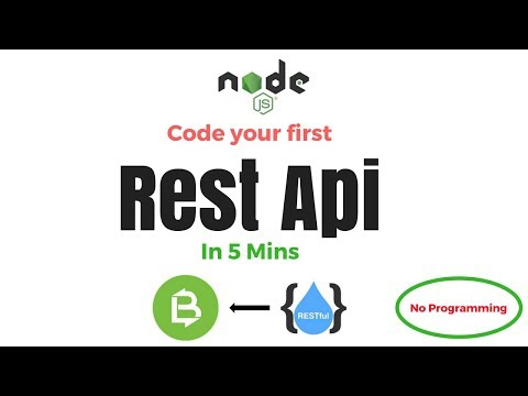 Build your first REST API in just 5 mins |...