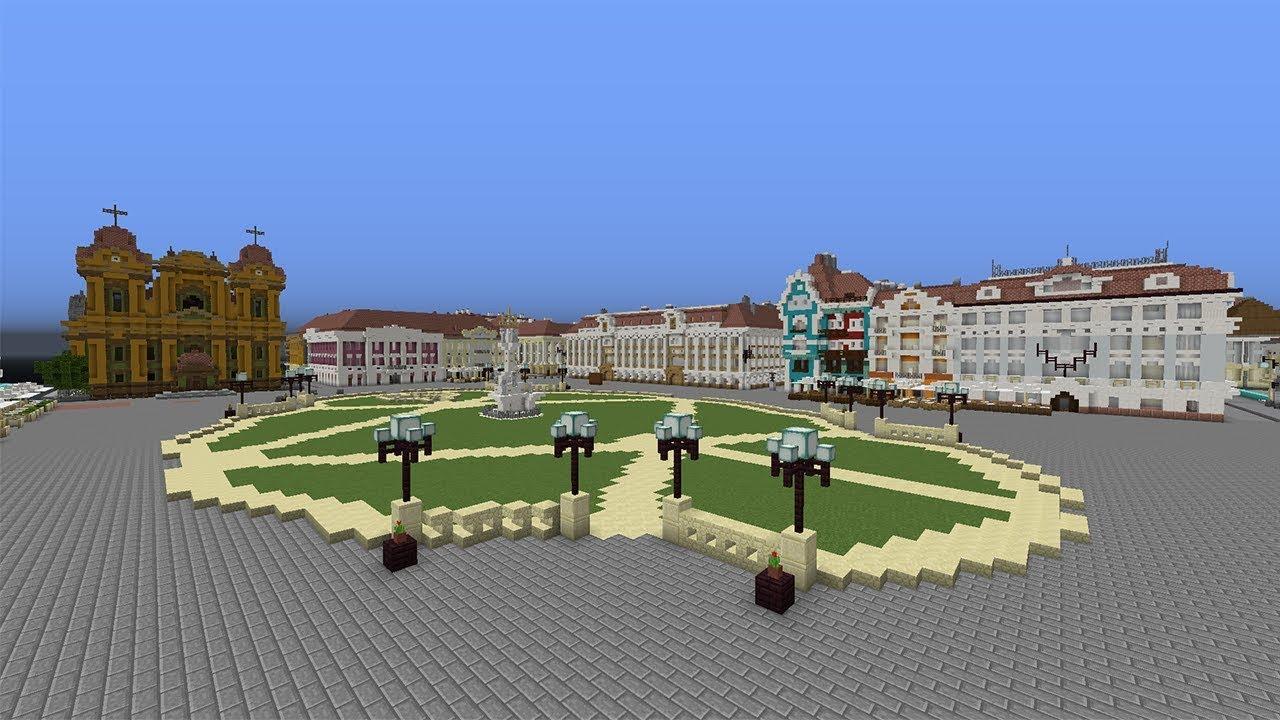 Timisoara in Minecraft Official Trailer