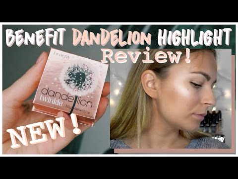 NEW Benefit Dandelion Twinkle Highlight | TEST IT TUESDAY, Try on & Review