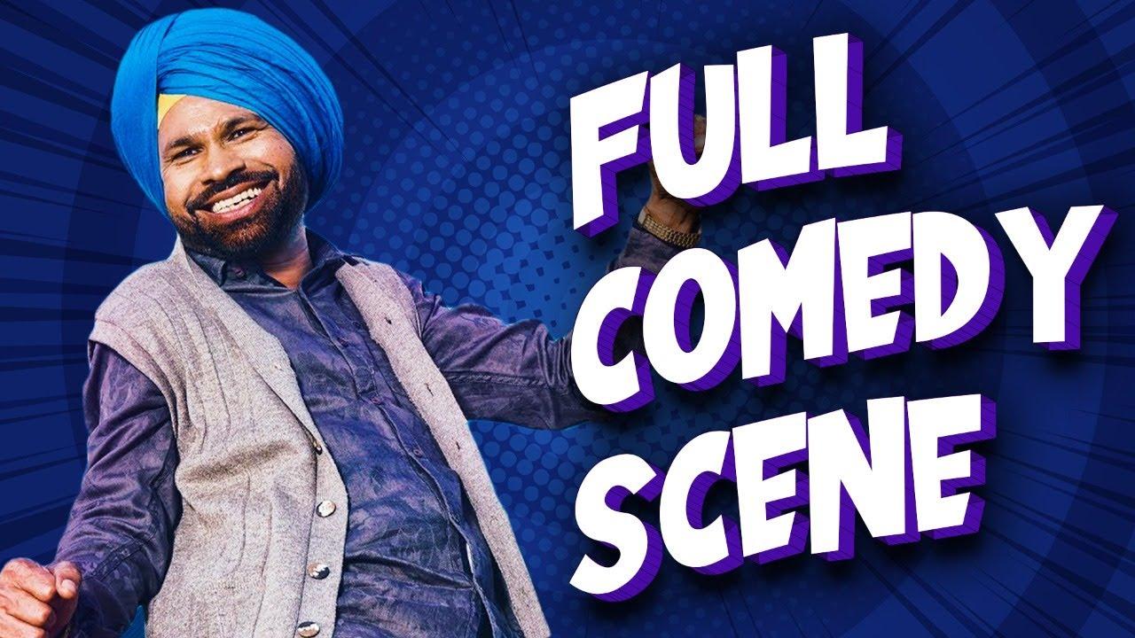 Comedy Scene   Funny Punjabi Movie Scene   Punjabi Comedy   Funny Clip