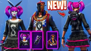 *NEW* FORTNITE LACE SKIN! ALL MY SKINS WITH THE STITCHES TEDDY BACKBLING!