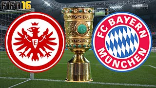 FIFA 16 - FC BAYERN MÜNCHEN gegen EINTRACHT FRANKFURT (DFB POKAL | 2.Runde)◄FCB #22►