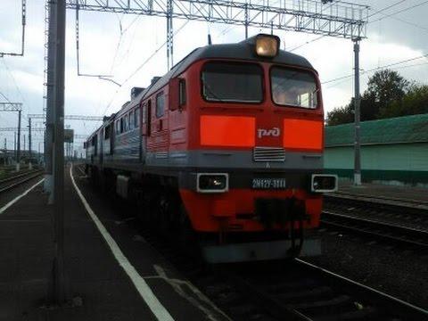 еду на поезде Москва-Гомель №75  часть2