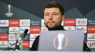 Пресс-конференция после матча «Байер 04» - «Краснодар»