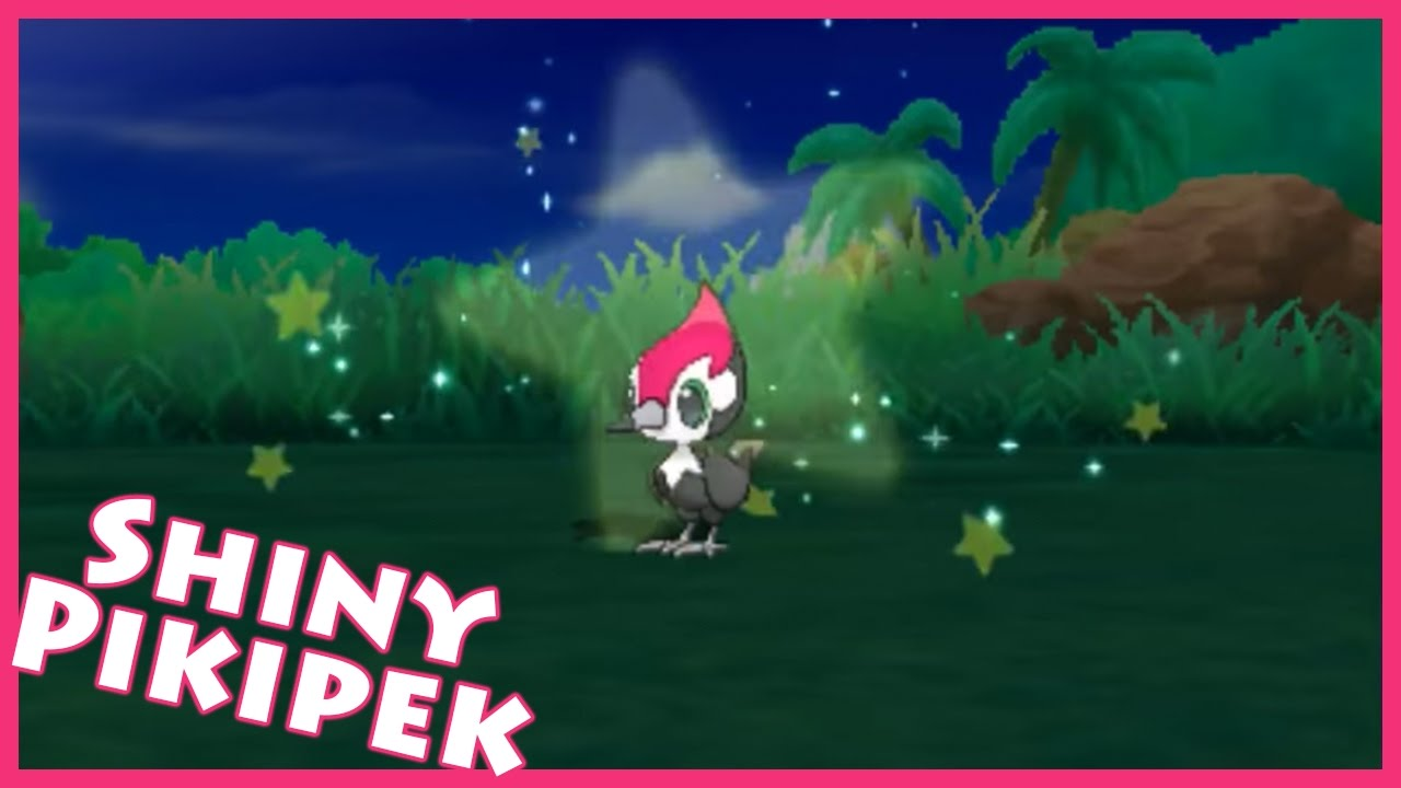 how to get shiny pikipek