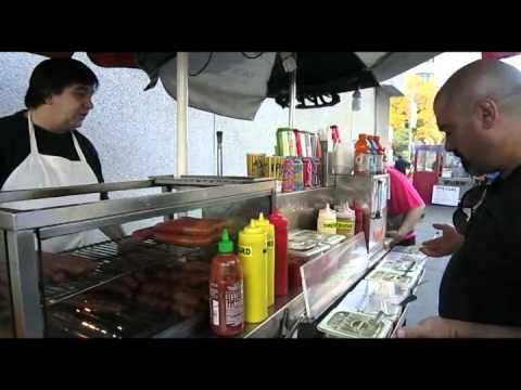 Greek Hot Dog Man, Toronto