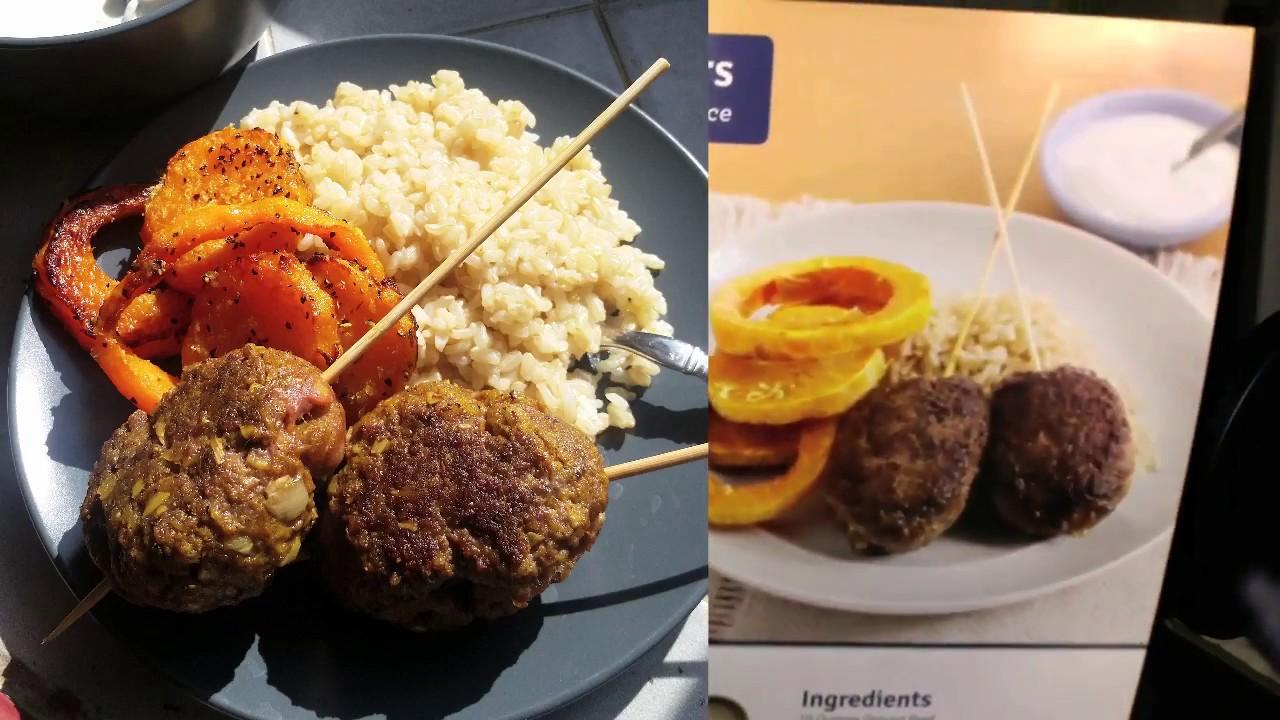 Blue apron katsu catfish - True Blue Apron Review Spiced Beef Skewers