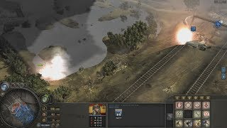 Wehrmacht Defensive VS 2 USA - Company of Heroes Europe at War