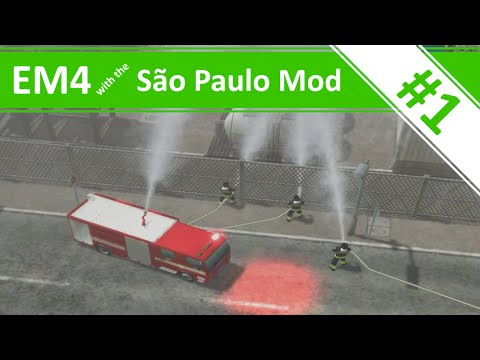 Welcome to Brazil! - Emergency 4 - São Paulo Mod Continuous Gameplay