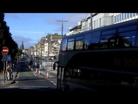 Edinburgh Scotland - Scenic Princes Street and Calton Hill 29-09-2012