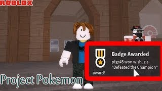 ROBLOX - PROJECT POKEMON - GETTING CHAMPION (STATHACK) WORK new codes 1/17/2019