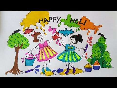 Easy Festival Diy Greeting Card Drawing Ideas For Kids