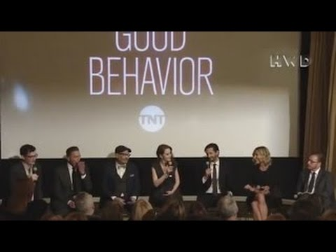 Good Behavior cast and creators, starring Michelle Dockery interview