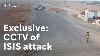 Exclusive: CCTV of Isis attack on Libya checkpoint thumbnail