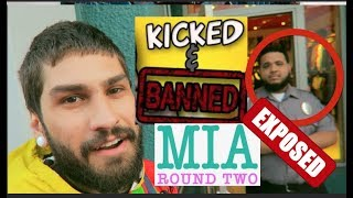 ROUND TWO EXPOSED: GETTING KICKED + BANNED FOR NO REASON!