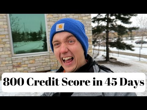 800 Credit Score In 45 Days  | Excellent Credit History In Canada