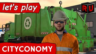 Cityconomy gameplay: It's time to take out the trash! [PC Let's Play/English]