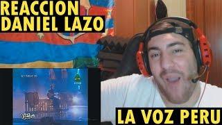 OJOS AZULES - DANIEL LAZO (LA VOZ PERÚ) (REACCIÓN)