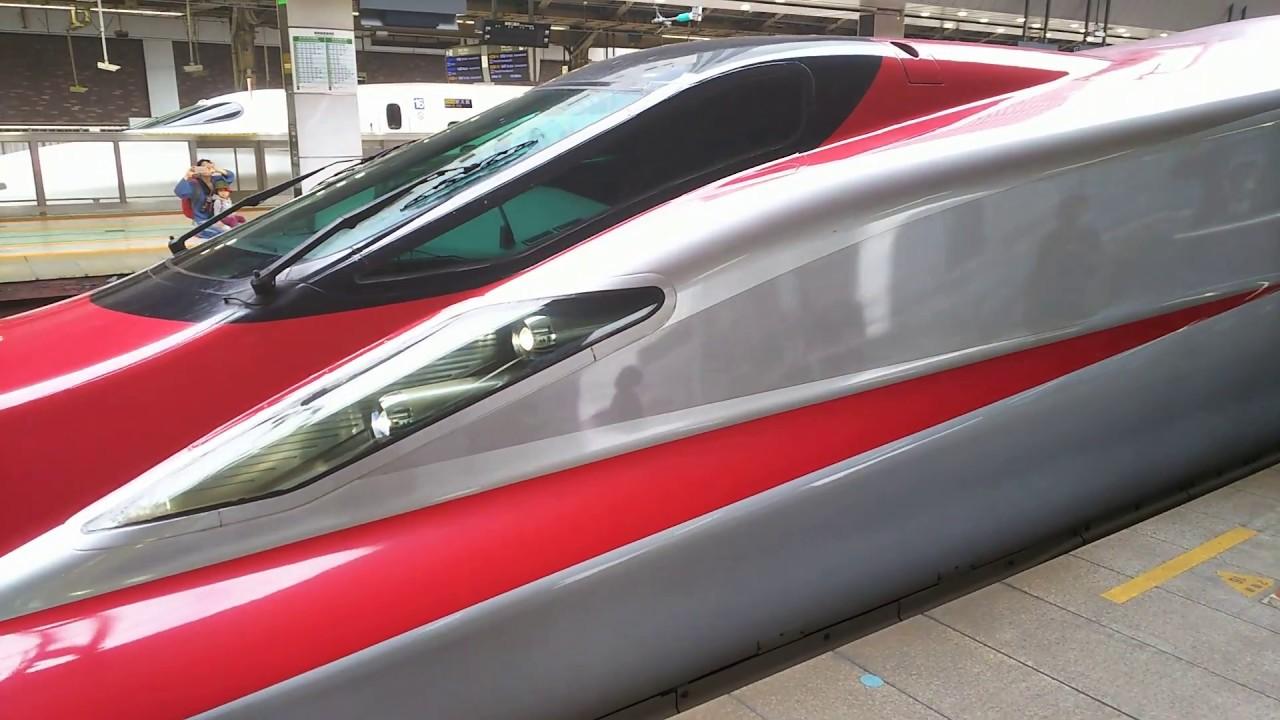 新幹線 北海道秋田新幹線 E5e6系 こまちはやぶさ連結 新函館北斗