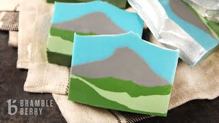 Anne-Marie Makes Evergreen Mountain Soap