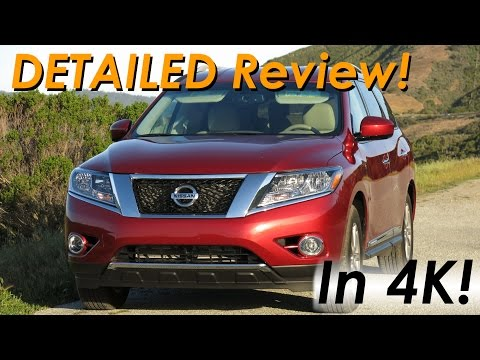 2015 Nissan Pathfinder 4x4 DETAILED Review and Road Test - In 4K!