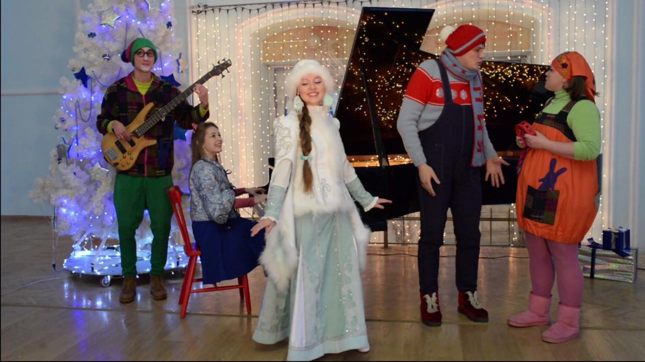 Снегурочка записала новую версию песни «В лесу родилась ...