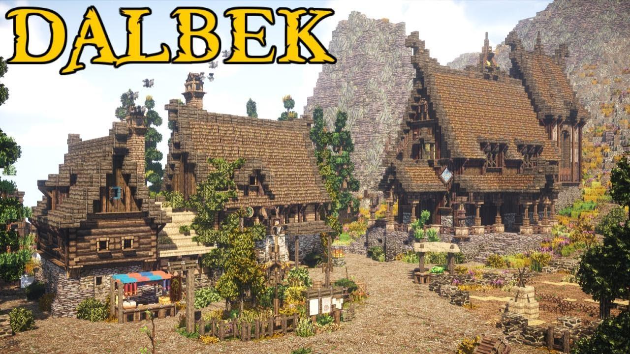 Feast Hall & Lumber Mill | Dalbek | Part 3 - Nordic Minecraft Town