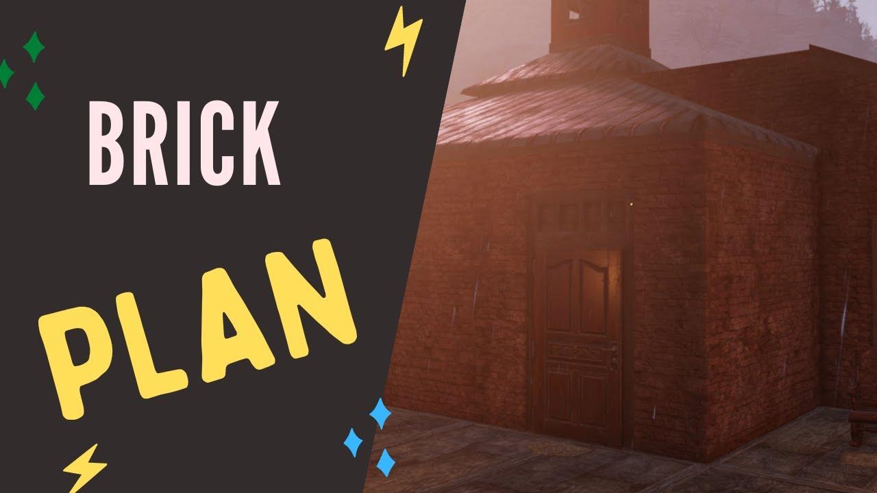 Fallout 76 Brick Building Plans Vendor Location Youtube