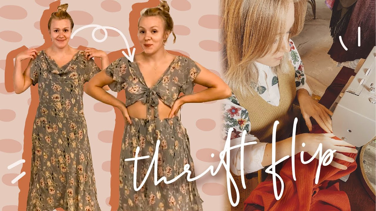 MONTH OF THRIFT FLIPS | the last episode crazy diy clothing transformations | WELL-LOVED