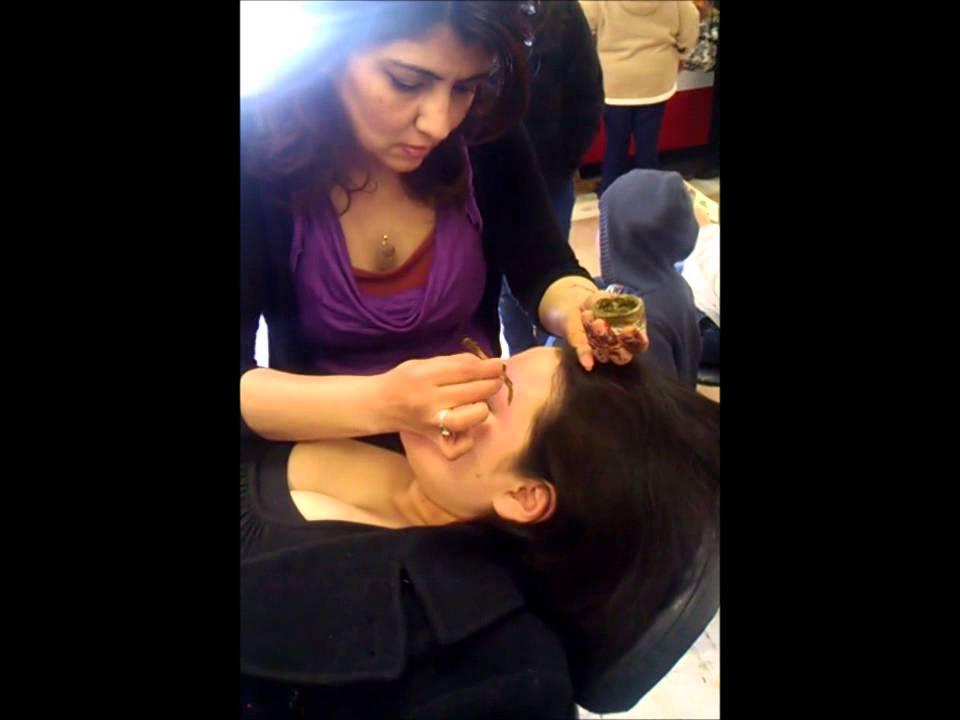 Henna Eyebrow Tattoo - YouTube