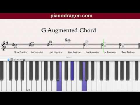 子供向けぬりえ: 最新G Augmented Chord Piano