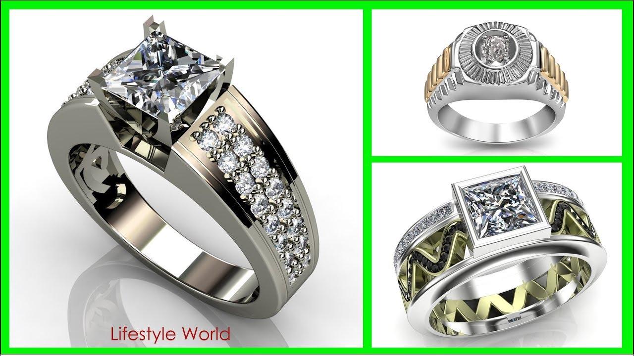Top 30 Mens Diamond Ring Design 2018 Rings Finger Symbolism