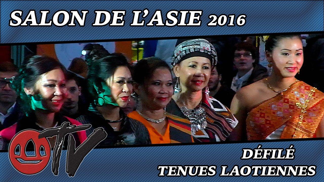 salon de l 39 asie 2016 d fil de tenues traditionnelles