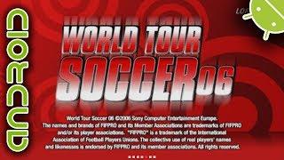 World Tour Soccer 06 | NVIDIA SHIELD Android TV | PPSSPP Emulator [1080p] | Sony PSP